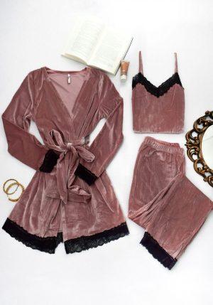 set velvet lingerie trendytoo.gr
